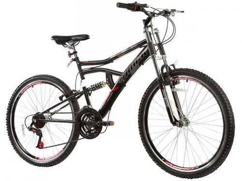 Bicicleta Track & Bikes Boxxer New Aro 26 - 21 Marchas Suspensão Double Crown Freio V-brake