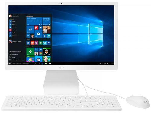 "Computador All in One LG 22V280-L.BJ31P1 4GB 500GB - Intel Quad Core LCD 21,5"" Full HD Windows 10"
