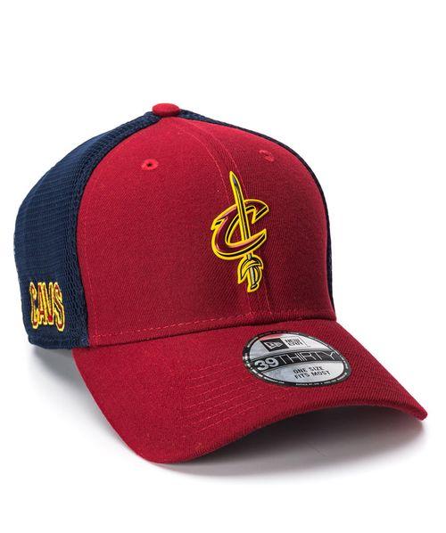 Boné New Era 3930 OTC Vinho Cleveland Cavaliers NBA
