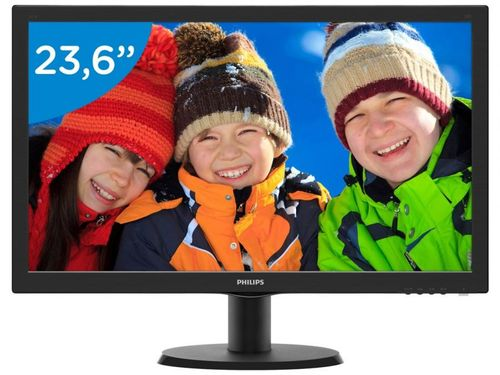 "Monitor para PC Full HD Philips LCD Widescreen - 23,6"" 243V5QHABA"