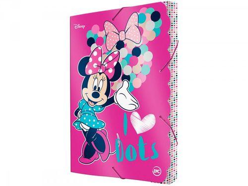 Pasta com Aba 23,2x33,2cm com Elástico DAC - Minnie Mouse 2599