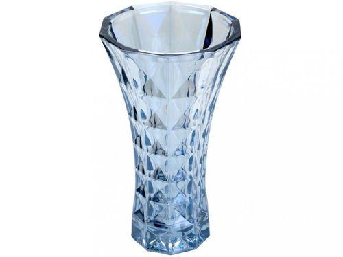 Vaso de Cristal Decorativo para Mesa Redondo - 25,5cm Wolff 26058
