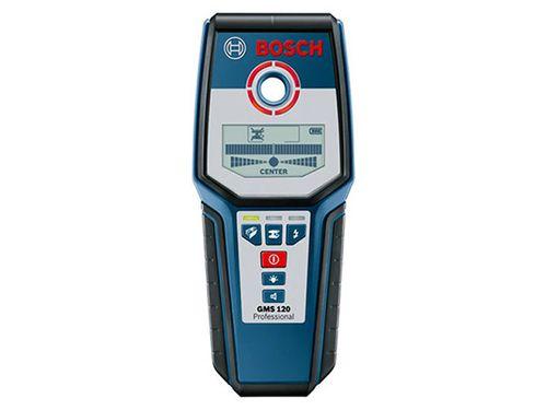 Detector de Materiais Bosch GMS 120 Profissional - Resistente à Água