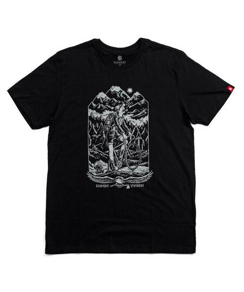 Camiseta Element Silk Riders Preta