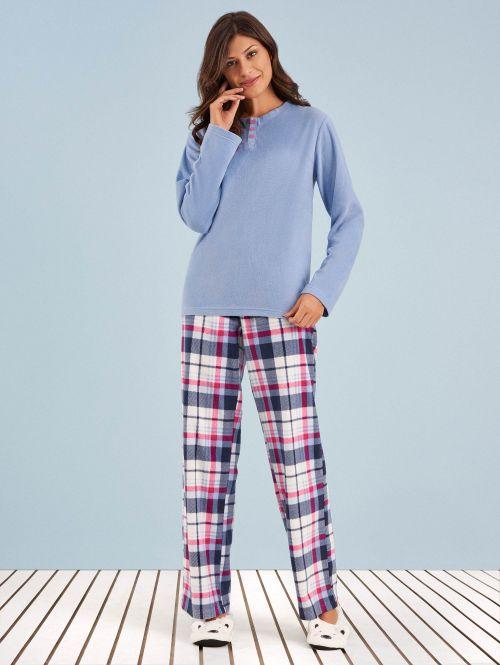 Pijama Manga Longa Soft Milie