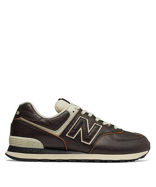 Tênis New Balance 574 Preto / Branco
