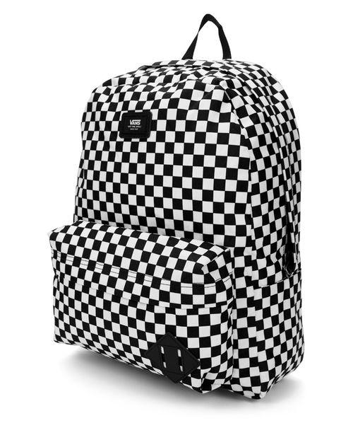 Mochila Vans Old Skool III Backpack Xadrez Preta/Branca