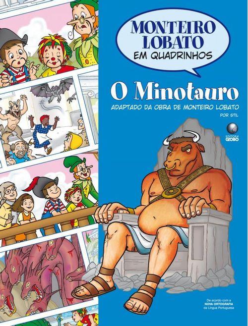 Monteiro Lobato em Quadrinhos - O Minotauro -