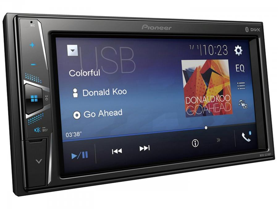 Central Multimidia Pioneer Mvh G218bt Lcd 6 2 Touch Bluetooth