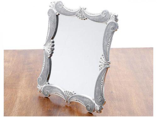 Espelho Decorativo Quadrado com Moldura de Mesa - 10x15cm Prestige Euro