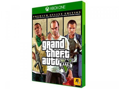 Grand Theft Auto V Premium Online Edition - para Xbox One Rockstar