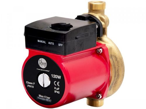 Pressurizador de Água Indicado para Quente Rheem - 120W Vazão Máxima 26l/min RB7BC120BZ