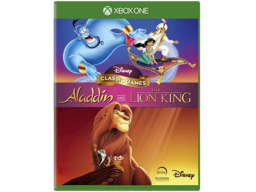 Disney Classic Games: Aladdin and the Lion King - para Xbox One Disney Pré-venda