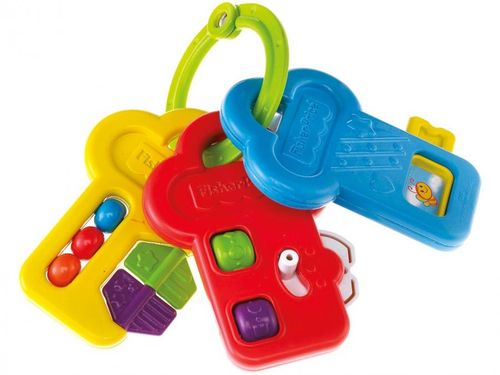 Chocalho para Bebê Fisher-Price - Activity Keys