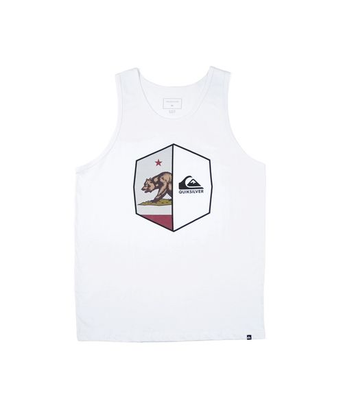 CAMISETA REGATA CALIFORNIA SHIELD QUIKSILVER BRANCO