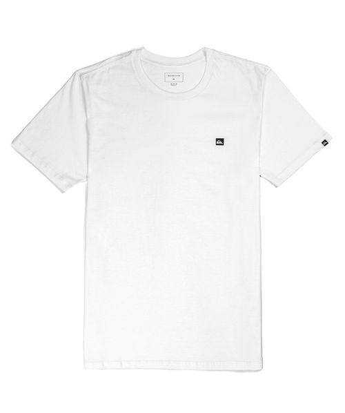 Camiseta Quiksilver Chest Transfer Branca