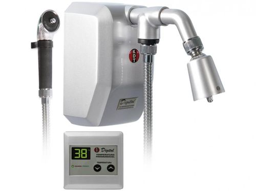 Ducha Digital KDT Inteligente 8800W - Multitemperatura Prata