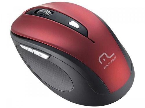 Mouse Sem Fio Óptico 1600dpi - Multilaser Comfort