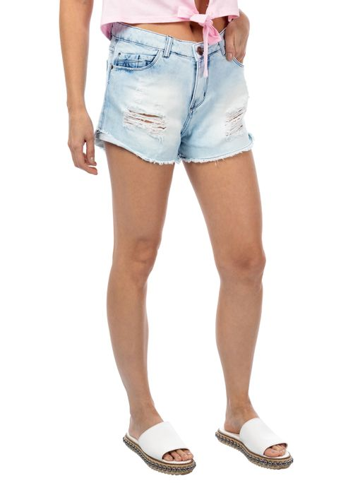Shorts Jeans Confort Raissa