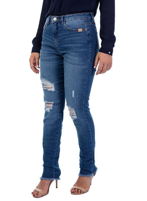 Calça Jeans Skinny Lauren