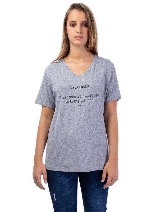 Camiseta V Bolso