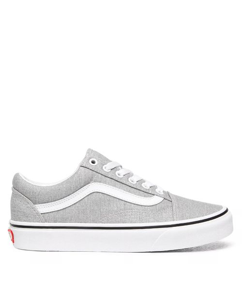 Tênis Vans Old Skool Silver True White