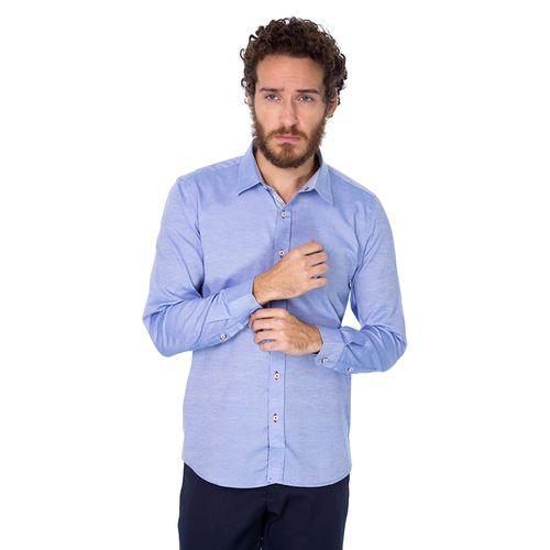 Camisa Social P/E Blue Bay
