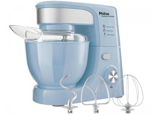 Batedeira Planetária Philco Azul 500W - PHP500 Turbo Blue 11 Velocidades