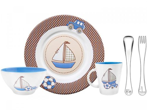 Kit Alimentação Infantil 5 Peças Tramontina - Le Petit 64250/620