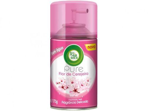 Aromatizador Ambiente Spray Air Wick Pure - Flor de Cerejeira Refil 250ml