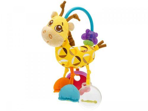 Chocalho Mordedor para Bebê Chicco - Girafa Primeiras Atividades