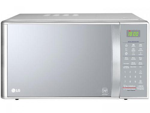 Micro-ondas LG 30L Solo com Grill MH7093BR - Prata