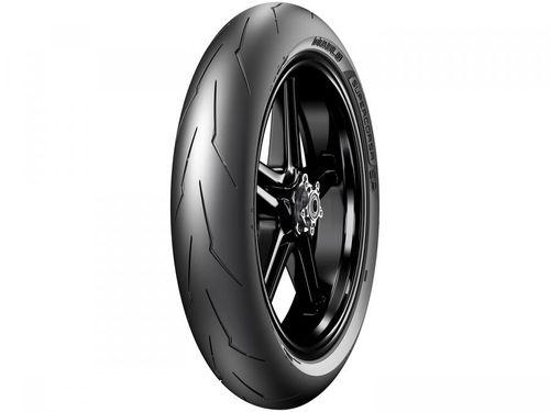 "Pneu de Moto Aro 17"" Pirelli Dianteiro 120/70 58W - Racing Street Diablo Supercorsa SP"