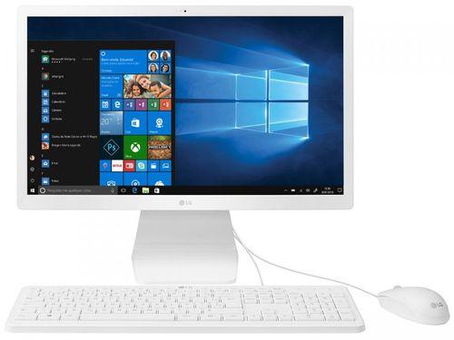"Computador All in One LG 22V280-L.BY31P1 - Intel Quad Core 4GB 500GB 21,5"" Full HD Windows 10"