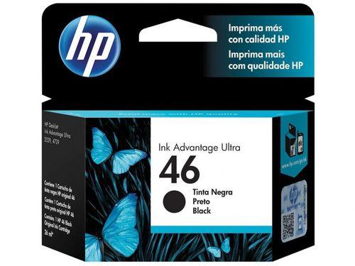 Cartucho de Tinta HP Preto 46 - Original