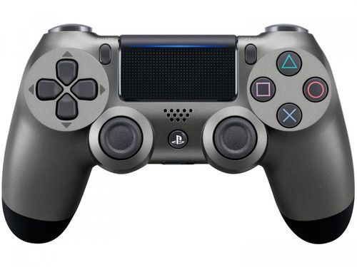 Controle para PS4 sem Fio Dualshock 4 Sony - Preto Metálico