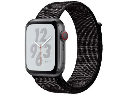 Apple Watch Nike+ Series 4 44mm GPS + Cellular - Wi-Fi Bluetooth Pulseira Esportiva 16GB