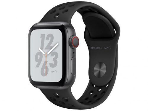 Apple Watch Nike+ Series 4 40mm GPS + Cellular - Wi-Fi Bluetooth Pulseira Esportiva 16GB