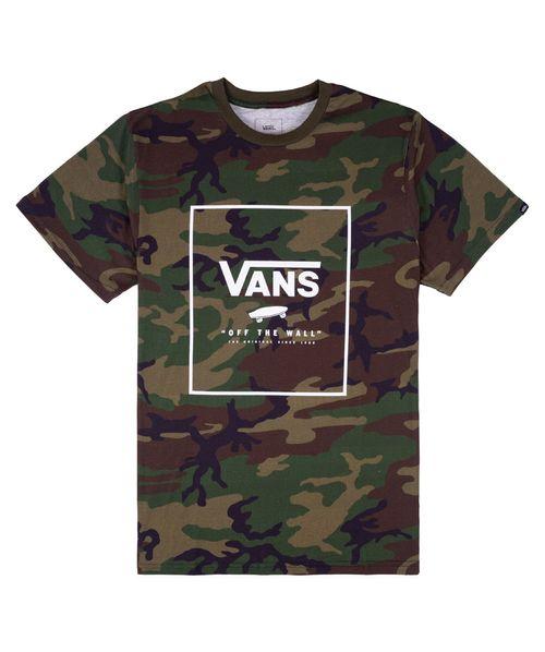 Camiseta Vans Print Box Camuflada
