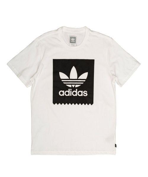 Camiseta Adidas Solid Blackbird Branca