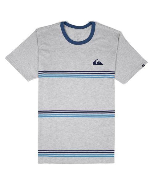 Camiseta Quiksilver Benny Tripe Neve