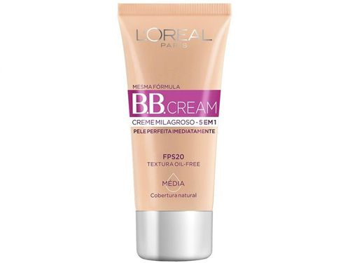 BB Cream L´Oréal Paris Médio FPS 20 H2042500 - 30ml