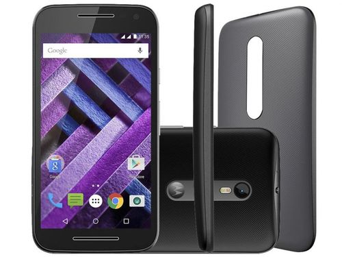 """Smartphone Motorola Moto G 3ª Geração Turbo 16GB - Dual Chip 4G Câm. 13MP + Selfie 5MP Tela 5"""""""