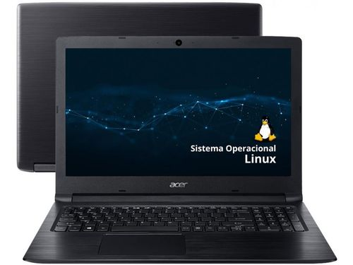 """Notebook Acer Aspire 3 A315-53-3470 Intel Core i3 - 4GB 1TB 15,6"""" Linux"""