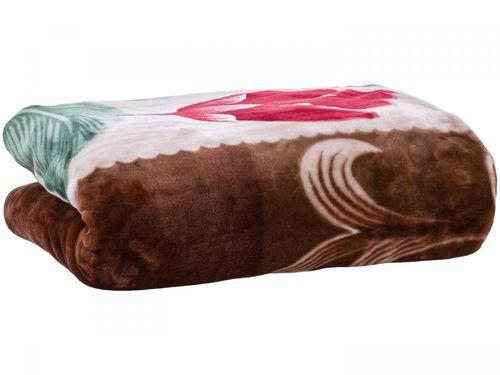 Cobertor Casal Jolitex Ternille - Diury Monviso Marrom