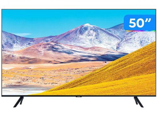 """Smart TV 4K LED 50"""" Samsung UN50TU8000GXZD - Wi-Fi Bluetooth HDR 3 HDMI 2 USB"""