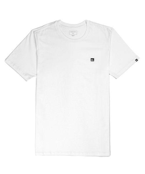 Camiseta Quiksilver Chest Transfer Branca