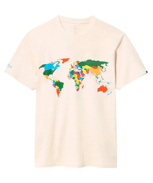 Camiseta Vans Save Our Planet Natural