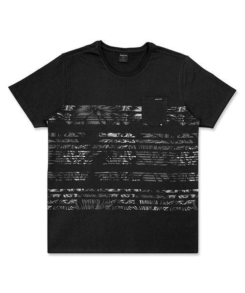 Camiseta Oakley Palms Stripes SP Masculino