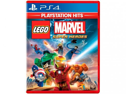 Lego Marvel Super Heroes para PS4 TT Games - Playstation Hits